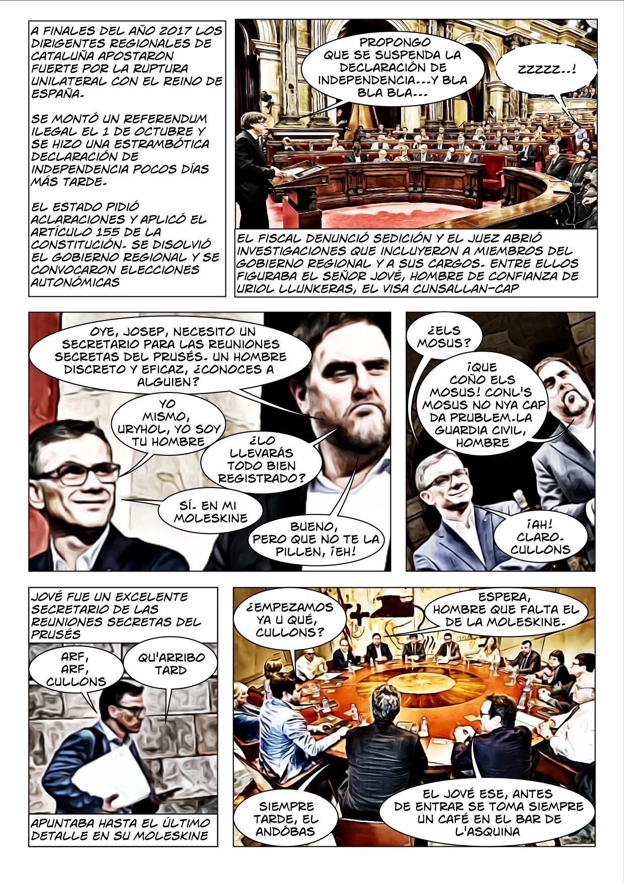 La Moleskine del Jové Cómic página 2